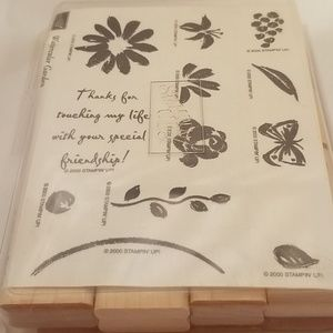 Stampin'Up Watercolor Garden Stamp set.